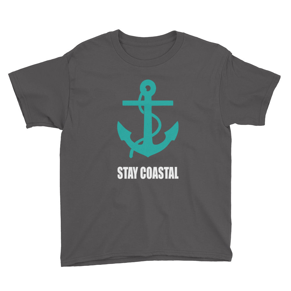 Youth Anchor Tee - Stay Coastal
