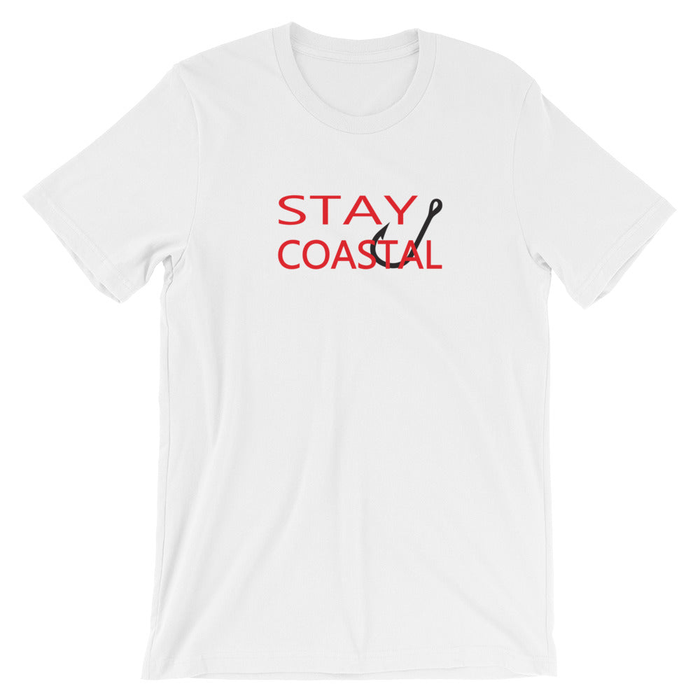 Men's Stay Coastal Hook Tee