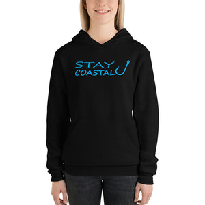 Women's Blue Fish Hook Premium Hoodie