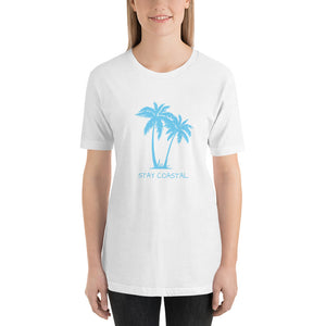 Women's Blue Palms Tee