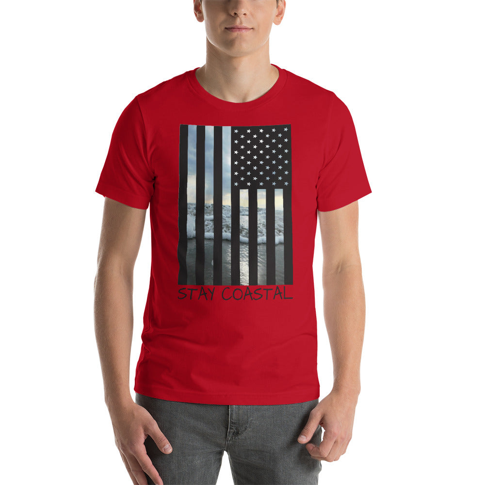 Men's American Flag Tee - Stay Coastal