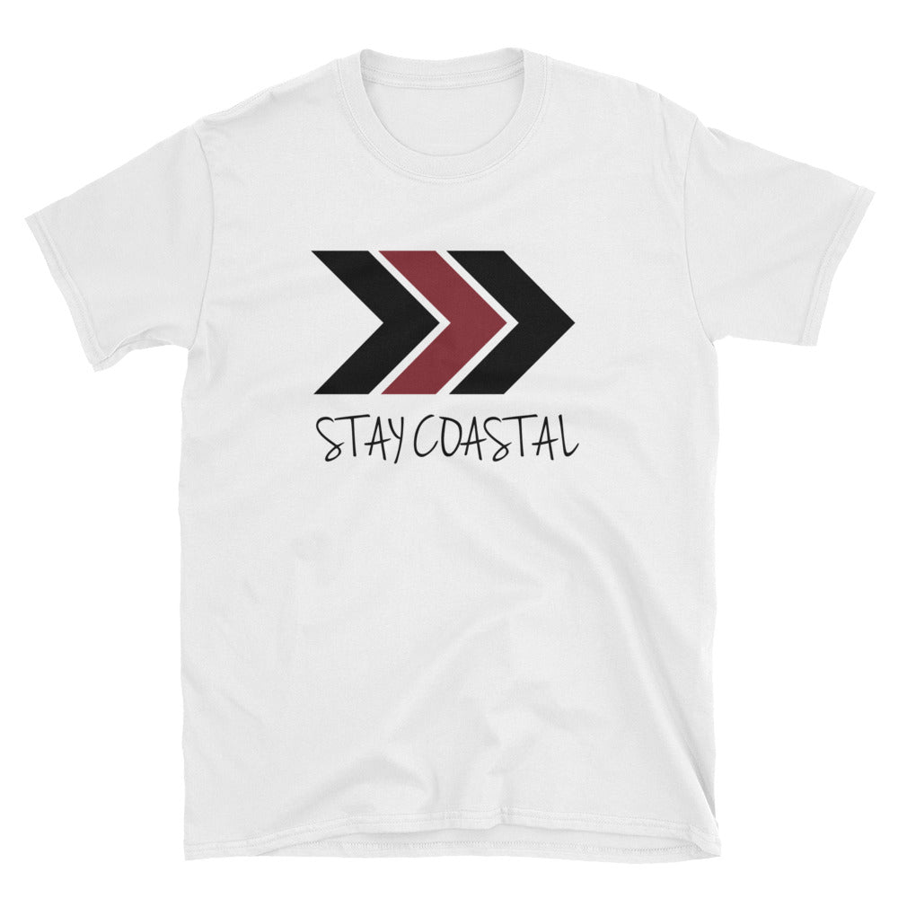 Men's Maroon Arrows Tee - Stay Coastal