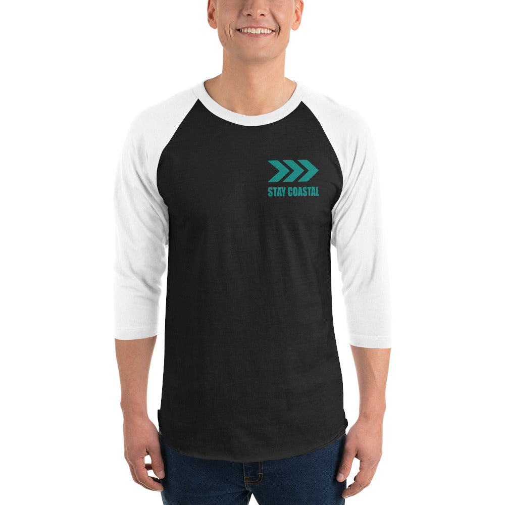 Men's SC Guided 3/4 Sleeve Tee - Stay Coastal