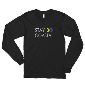 Women's Stay Coastal Logo Long Sleeve