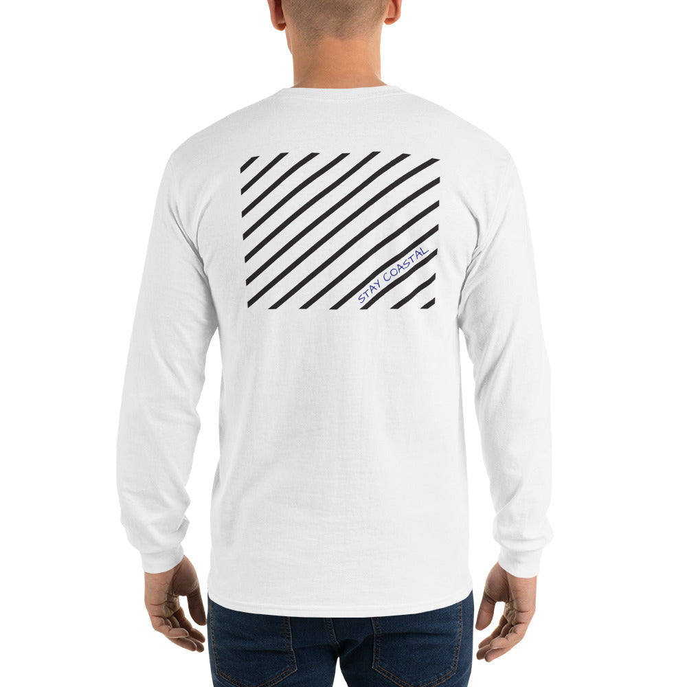 Men's Logo Long Sleeve Tee - Stay Coastal