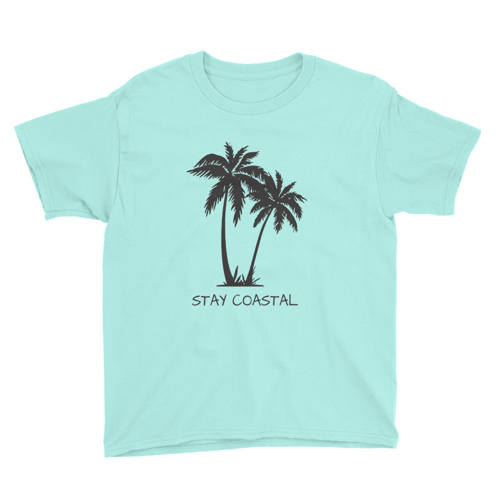 Youth Palms Tee - Stay Coastal