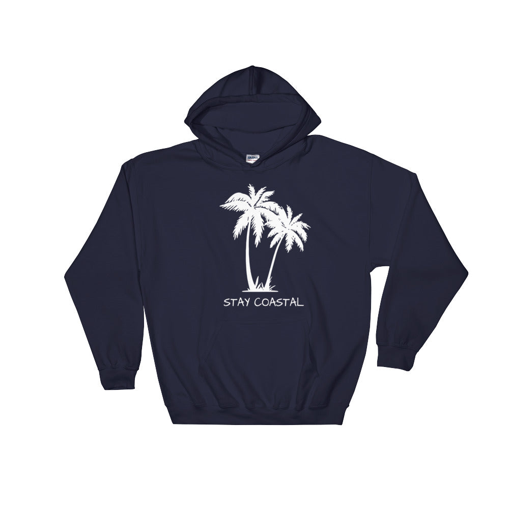 Women's Palms Hoodie - Stay Coastal