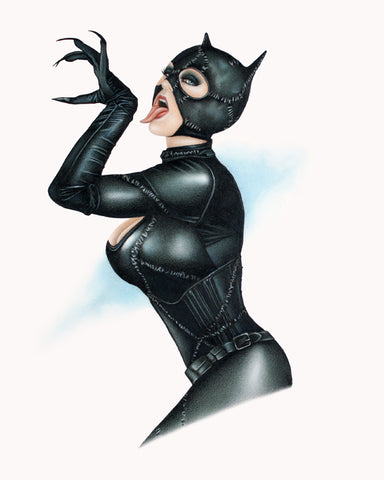 Catwoman-Tongue Lashing