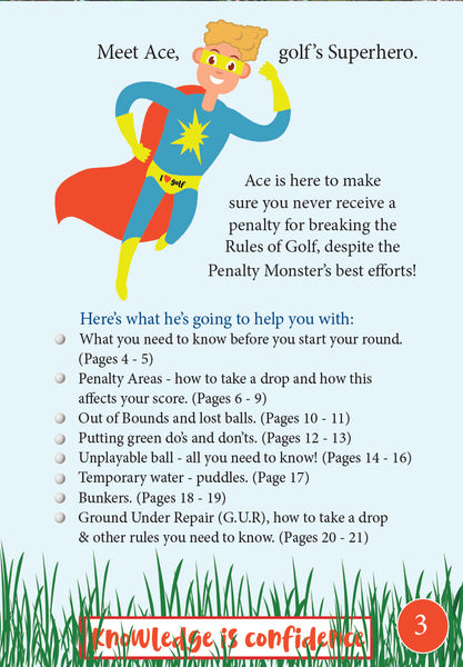 Kids Golf Rules Book