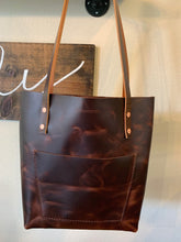 Load image into Gallery viewer, No. 11 | The Mystique handmade leather tote bag from Brim + Birch - Brim + Birch