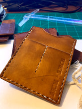 Load image into Gallery viewer, NO.3 | The Works  handmade leather caddy wallet - Brim + Birch