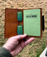 Load image into Gallery viewer, No. 7 | The Explorer handmade leather notebook wallet - Brim + Birch
