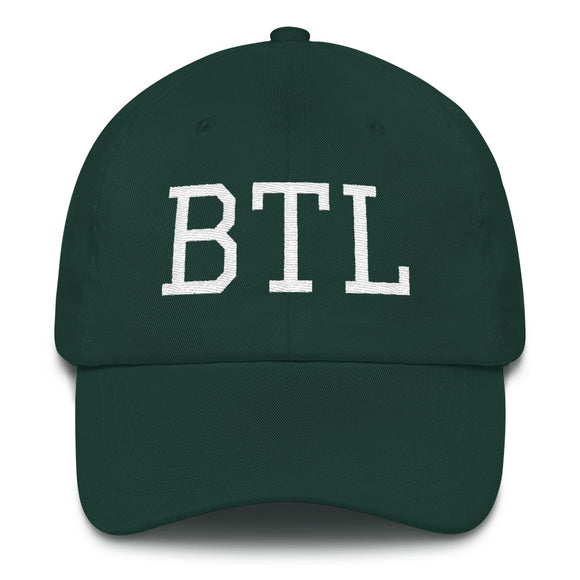 Battlecreek BTL Airport Code Hat - Green