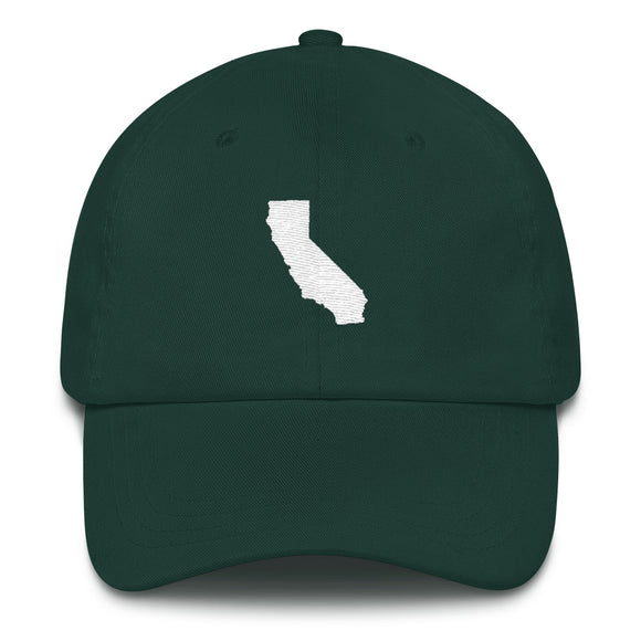 California Outline Hat - Green