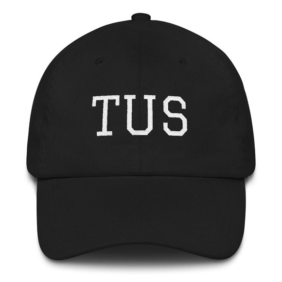 Tucson TUS Airport Code Hat - Black