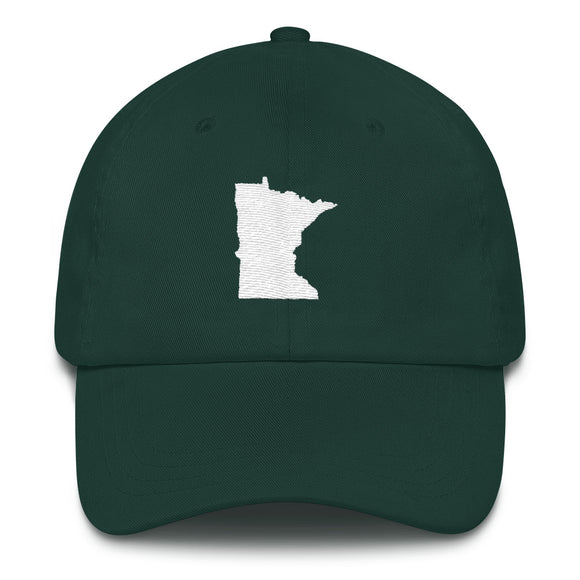 Minnesota Outline Hat - Green