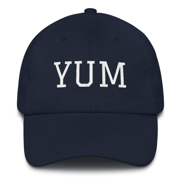 Yuma YUM Airport Code Hat - Navy