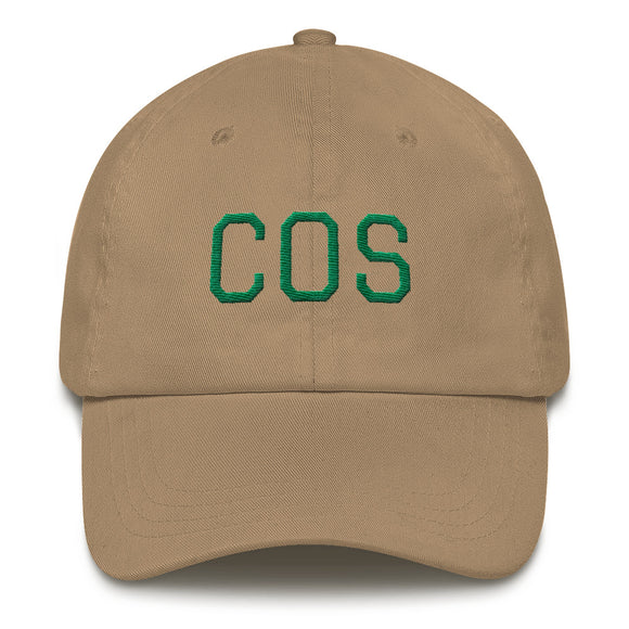 Colorado Springs COS Airport Code Hat - Khaki