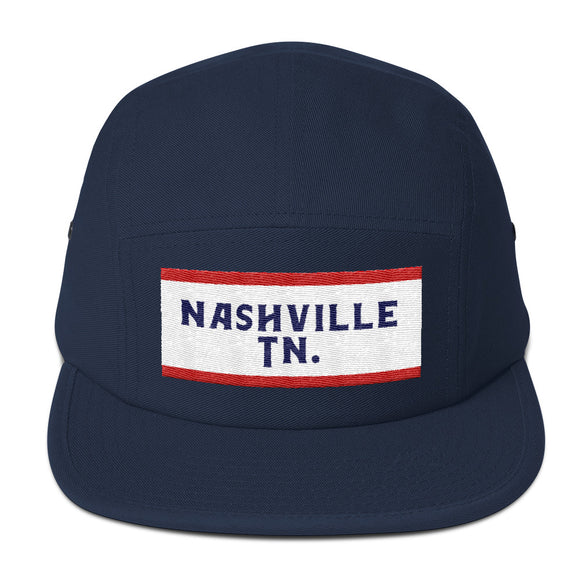 Nashville Tn. 5 Panel Hat
