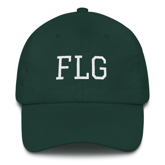 Flagstaff FLG Airport Code Hat - Green