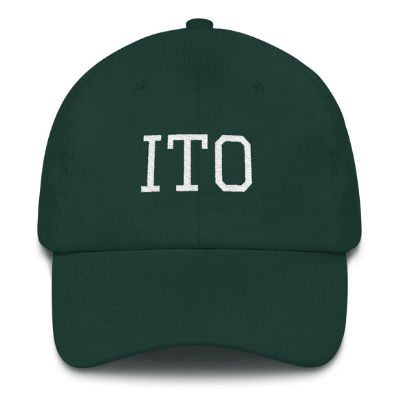 Hilo ITO Airport Code Hat - Green