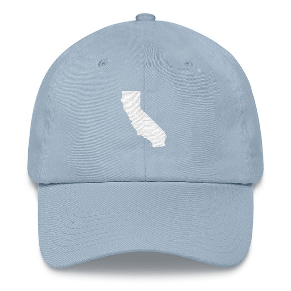 California Outline Hat - Blue