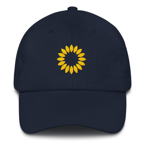 Kansas Sunflower Hat - Navy
