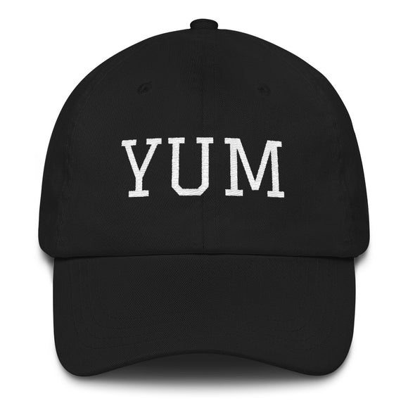Yuma YUM Airport Code Hat - Black