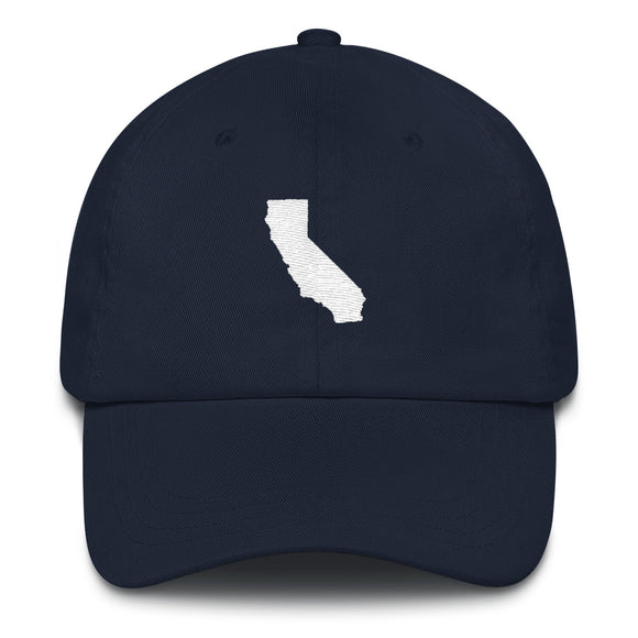 California Outline Hat - Navy