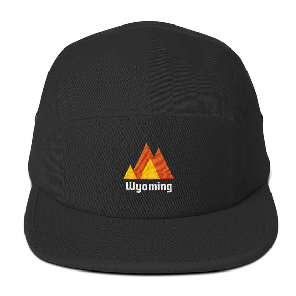 Wyoming Mountains 5 Panel Hat