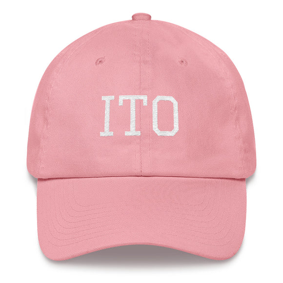 Hilo ITO Airport Code Hat - Pink