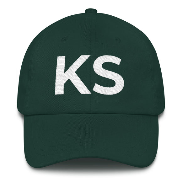 Kansas KS Hat - Green