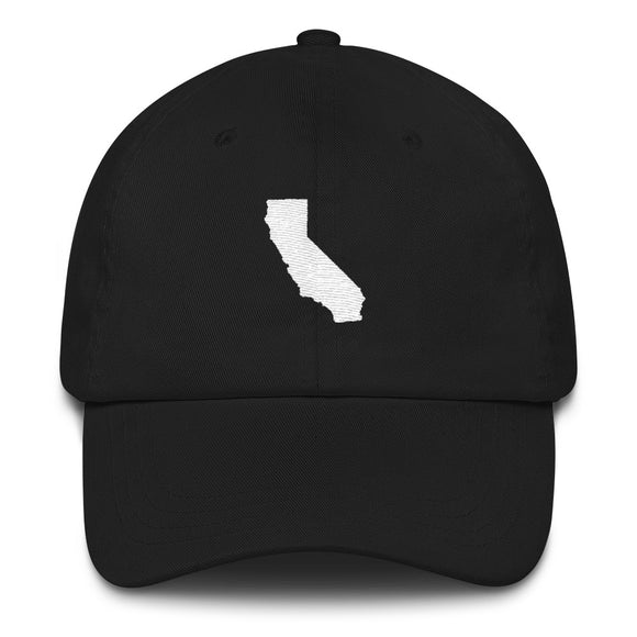 California Outline Hat - Black