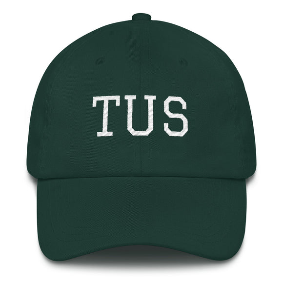 Tucson TUS Airport Code Hat - Green