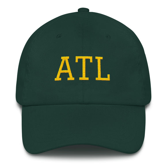 Atlanta ATL Airport Code Hat - Green
