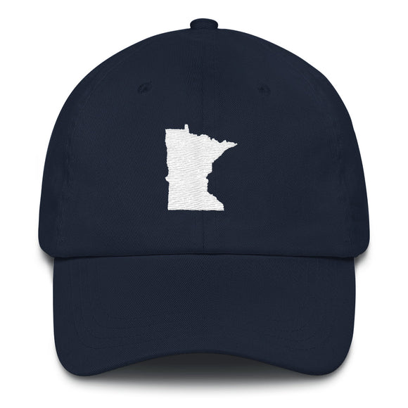 Minnesota Outline Hat - Navy