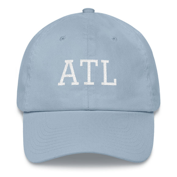 Atlanta ATL Airport Code Hat - Light Blue