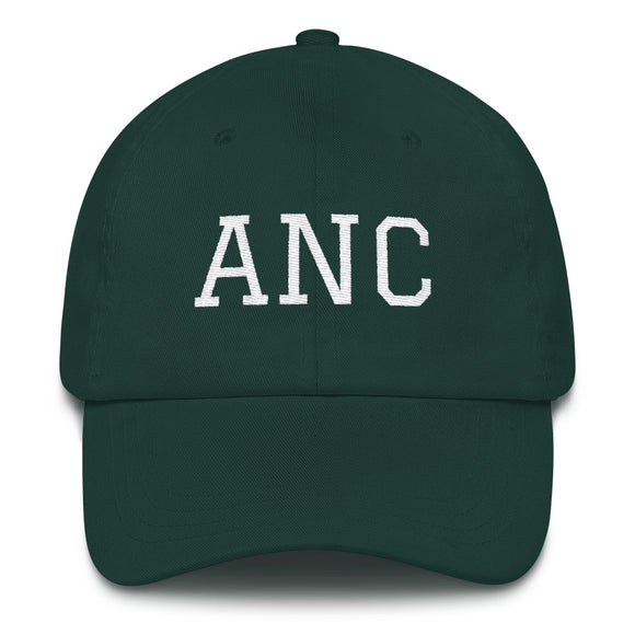 Anchorage ANC Airport Code Hat - Green
