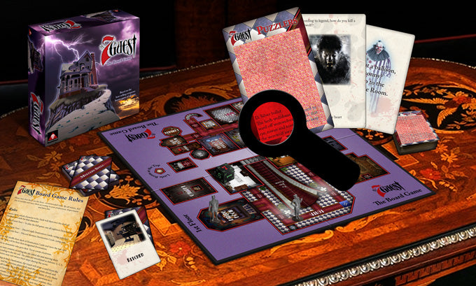 The 7th Guest Board Game 1st Standard Edition