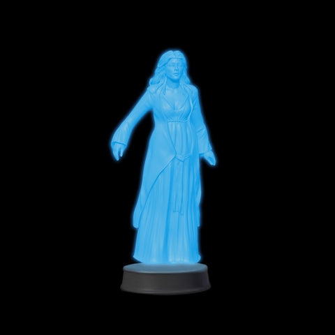 Glow-in-the-Dark Lady in White