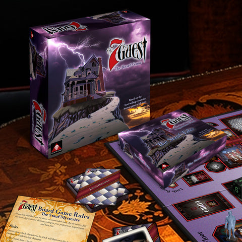 The 7th Guest Board Game and The Stauf Tales Expansion Pack