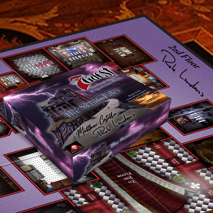 The 7th Guest Board Game Kickstarter Edition and The Stauf Tales Expansion Pack Signed