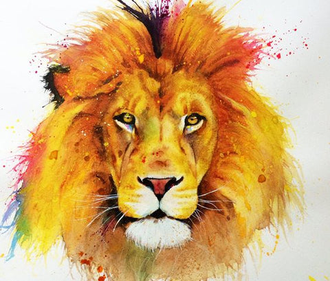 "Art class Melbourne Sunday 6 October ""Mufasa""."