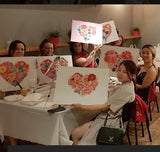 "Art class Perth Monday October 7  ""Love for Bee""."