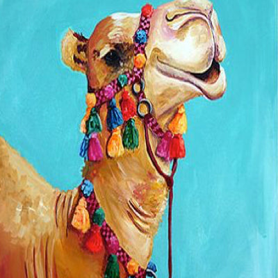 "Art Class Melbourne Sunday 17 November ""Camel""."