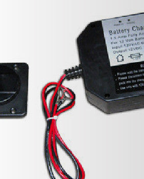 Panel Mount Battery Charger 1.5 Amp