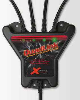 QuadLink 4-Channel Battery Charger Multiplier