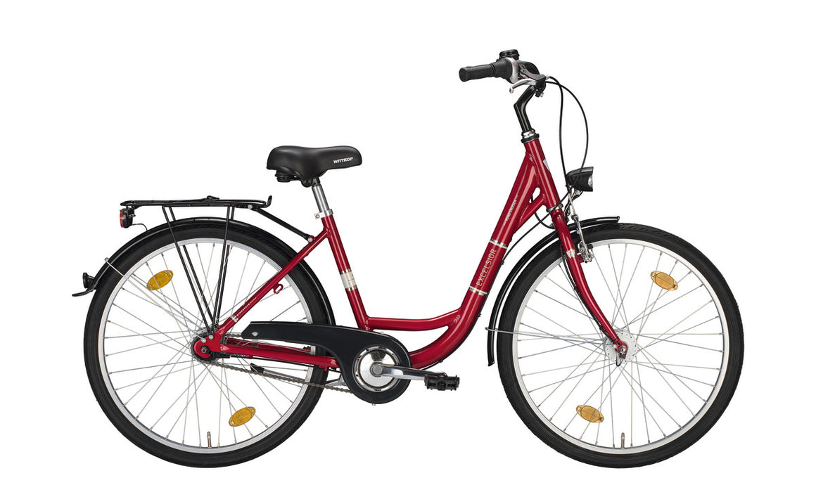 Excelsior Road Cruiser Alu ND 26 Zoll Nexus 7 Damenrad Citybike