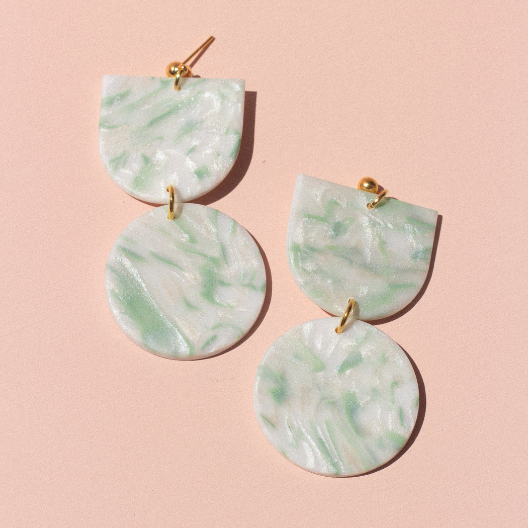 Harlow in Green Marble