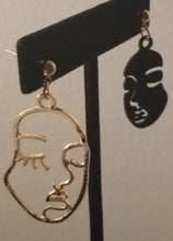 Load image into Gallery viewer, Two Faced Earrings